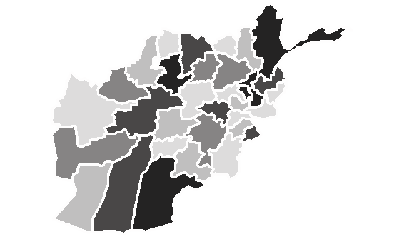 Afghanistan News.Net - map