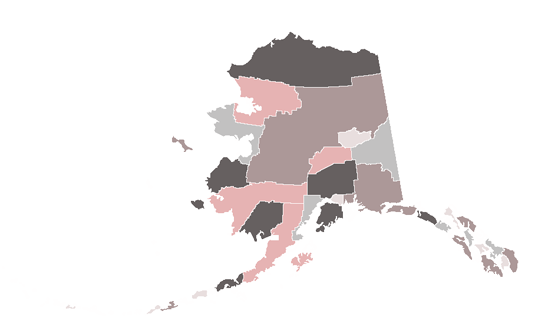 Alaska State News.Net - map