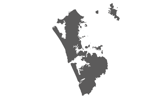 Auckland News.Net - map