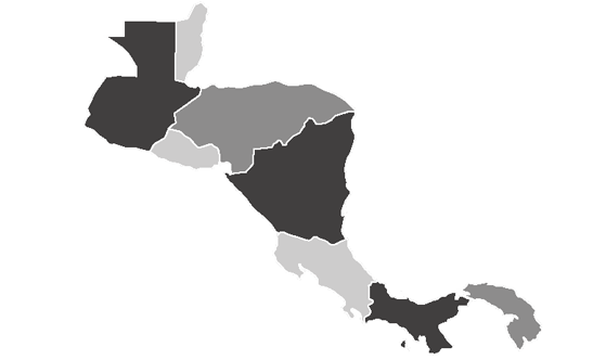 Central America News.Net - map