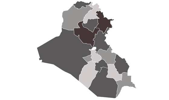 Iraq News.Net - map