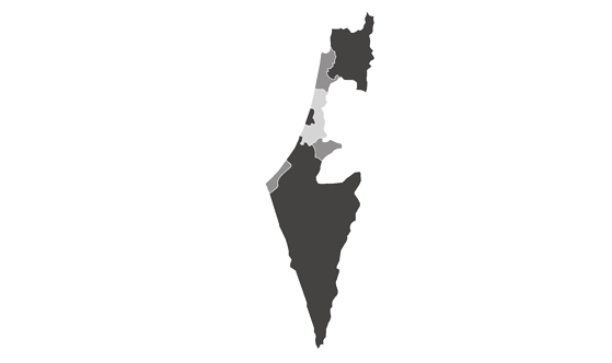Israel News.Net - map
