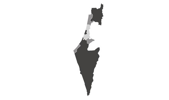 Israel News.Net - map