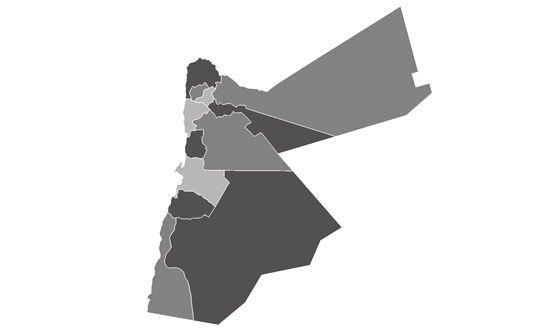 Jordan News.Net - map