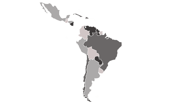 Latin America News.Net - map
