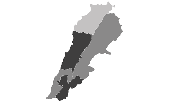 Lebanon News.Net - map