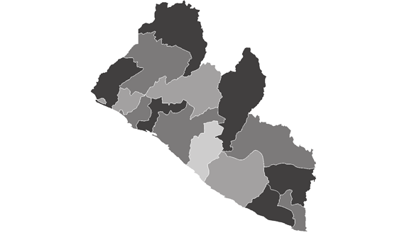 Liberia News.Net - map