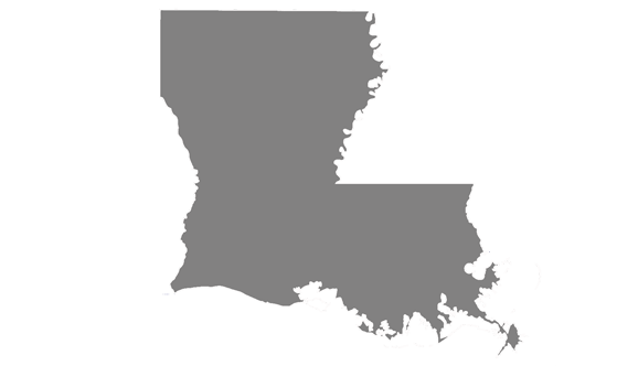 Louisiana State News.Net - map
