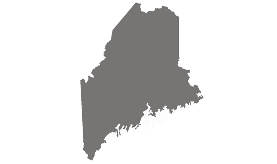 Maine State News.Net - map