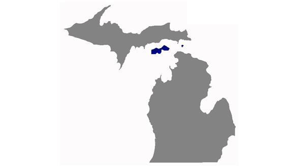 Michigan State News.Net - map
