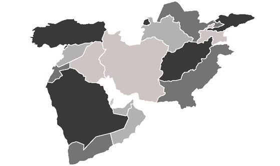 Middle East News.Net - map
