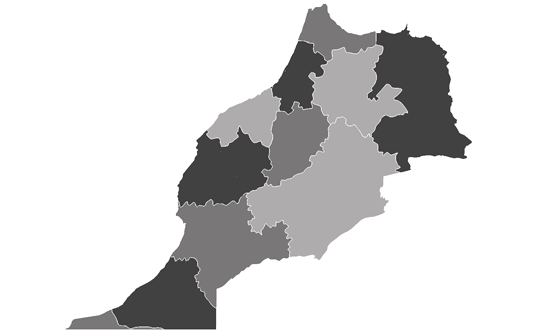 Morocco News.Net - map