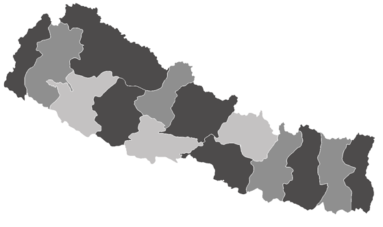 Nepal News.Net - map