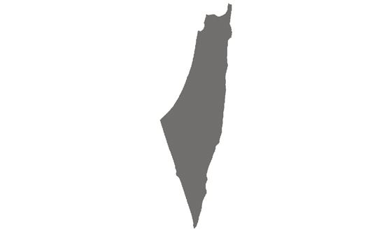 Palestinian News.Net - map