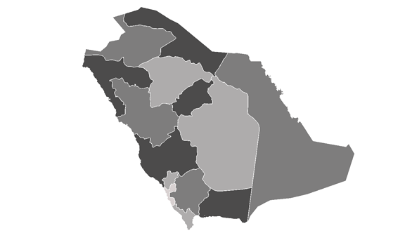 Saudi Arabia News.Net - map
