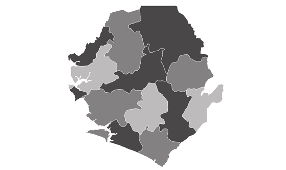 Sierra Leone News.Net - map