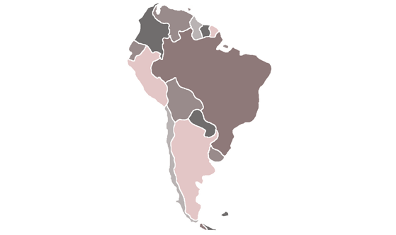 South America News.Net - map