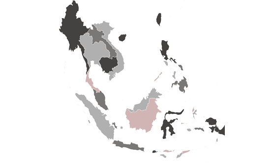 Southeast Asia News.Net - map