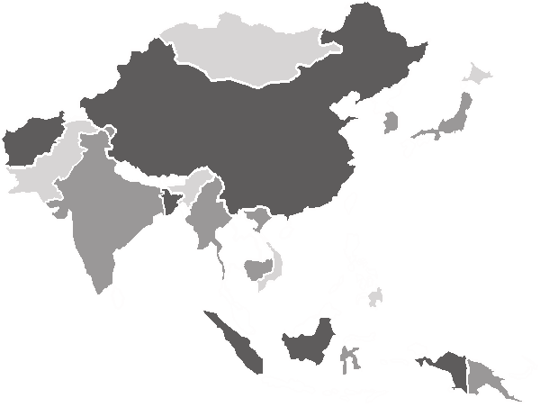 The Asia News.Net - map