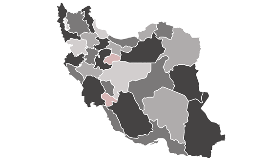 The Iran News.Net - map